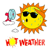 Mostly Sunny Hot!